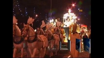 Хиляди посрещнаха парада на Тримата царе по улиците на Мадрид