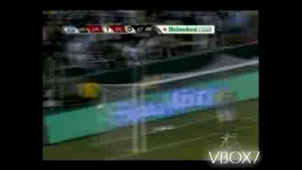Първият Гол На Дейвид Бекъм за LA Galaxy