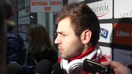 С телефони целили играчите на ЦСКА в Ловеч