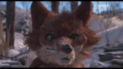 Лисицата и синигерът - целият късометражен филм с Бг Субтитри (2012) The Fox and the Chickadee & hd