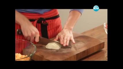Глазирано пиле, салата от печени зеленчуци, торта с кафе - Бон апети (23.01.2013г.)