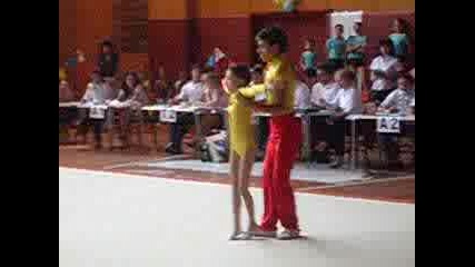 Акробатика Малка Смесена Двойка - Баланс