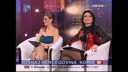 Indira Radic - Intervju - Utorkom u osam - (TV Dm Sat 2013)