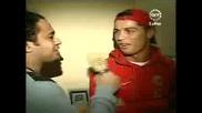 Cristiano Ronaldo Interview 20.01.2008