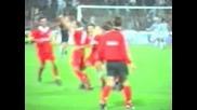 Cska - Juventus 1994 Radukanov 2nd goal