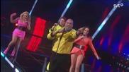 Danny Saucedo & Alcazar - Not A Sinner Not A Saint - Melodifestivalen 2013