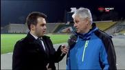 Мнението на Стойчо Стоев след служебната победа над Литекс
