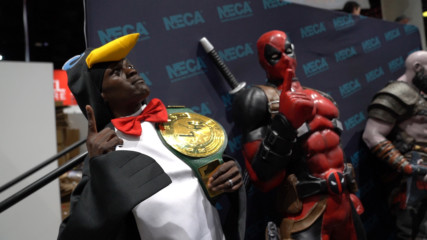 R-Truth tours SDCC as a penguin: WWE.com Exclusive, July 19, 2019