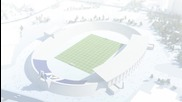 *hd* Левски показа как ще изглежда ултрамодерния стадион