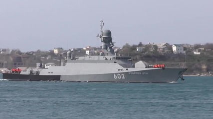 Russia: Russian navy ship returns to Sevastopol following Syria service