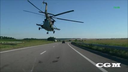 Необичайно летене на един руски хеликоптер!