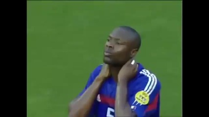Zinedine Zidane trick in Euro 2004 against Croatia -