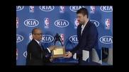 Марк Гасол получи наградата за най-добър дефанзивен играч в НБА