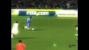 Salomon Kalou / Fifa 2010 / Странична ножица