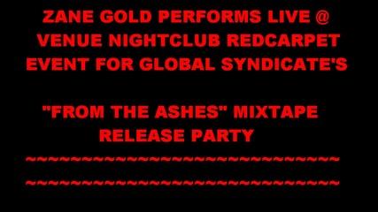 Zane Gold Performs Live @ Venue Nightclub