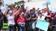 Guatemala: Protesters call for President Molina's resignation in Guatemala City