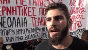 Greece: Protesters march in Piraeus on 8th anniv of rapper Fyssas's killing by Golden Dawn