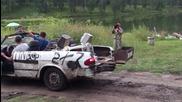 Волга кабрио - Автомобил за барбекю