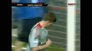Ман Юн 1 - 4 Ливърпул all goals