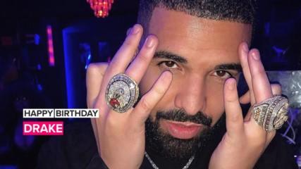 Drake celebrates 33rd birthday with diamonds & Rihanna