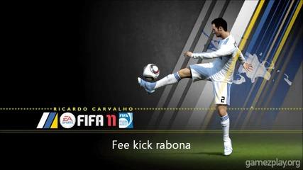 Fifa 11 Rabona and rear scissors (tutorial)