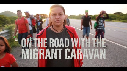The migrant caravan has a message for Trump