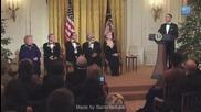Барак Обама Пее - Sexy And I Know It!