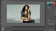 1#photoshop - Как да сменим фона на снимка с photoshop [hd 720p]