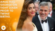 George Clooney skips Aurora Prize as twins due any day