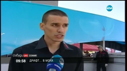Най-добрите български пилоти на дрифт шоу в мола