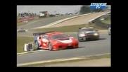 Crash Ferrari Gt Angleterre Round 2 Knockhill
