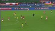 Австрия 1:1 Швеция 08.09.2014