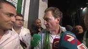 Домусчиев към репортер на btv Олигофрен, не искам да те виждам