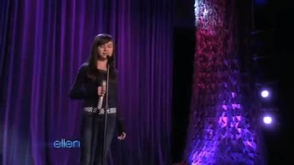 Уникалната 11 годишна Maddi Jane в шоуто на Ellen Degeneres