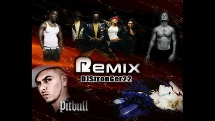 Neveroqten Remix 2009 Hotel Room Pitbull ft Black Eyed Peas , Lady Gaga, Akon