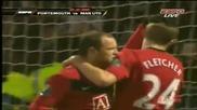 Portsmouth Vs Manchester United 1 - 4 Goals Highlights (28.11.2009) Hq