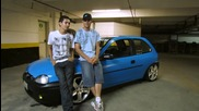 Opel Corsa Smurf Tuning