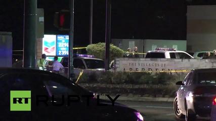 САЩ: Полицай бе застрелян на бензиностанция в Хюстън