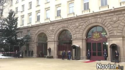 Румен Радев влиза в Президентството.