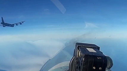 International waters: Russian fighters intercept US B-52 bombers above the Baltic Sea - MoD
