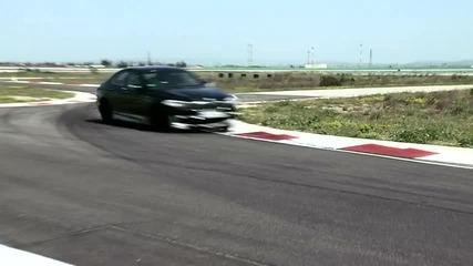 Тест на Бмв М5 на писта 2011 (new Bmw M5 at the test track)