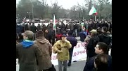 Много готин дядка на протестите в Пловдив