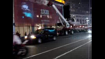 Times Square New York Автошоу