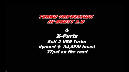 Vw Golf Mk2 Turbo-impression