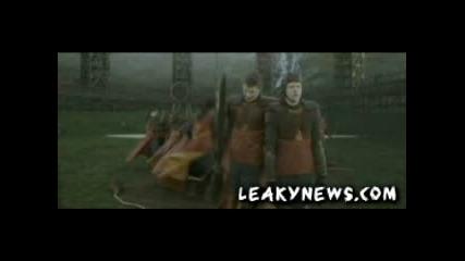 пробите за грфиндорския куидичен отбор