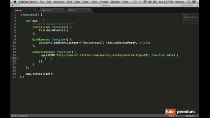 15. Framework Integration - jquery Mobile