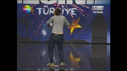 Yordan Iliev (yetenek sizsiniz turkiye) 14.1.2012 -