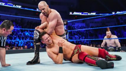 The Miz vs. Cesaro: SmackDown LIVE, Jan. 22, 2019
