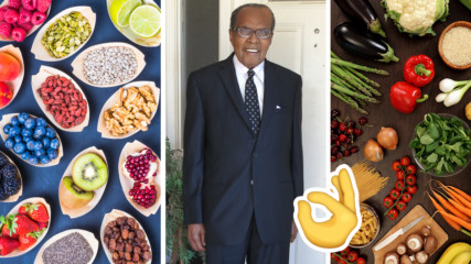 114-годишен човек разкрива тайната на дълголетието... и тя е в храната!