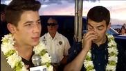 Jonas Brothers на премиерата на Hawaii Five-0